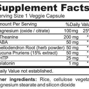neuraflow sleep ingredientes