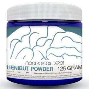 Phenibut polvo 125 gramos