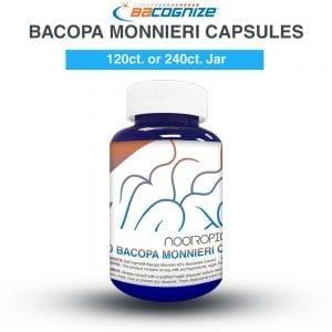 Bacopa Monnieri cápsulas (x120)