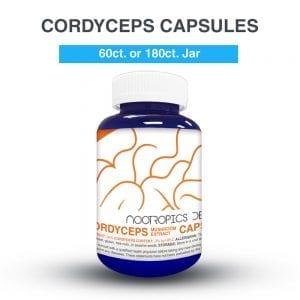 Cordyceps cápsulas 500mg (x180)