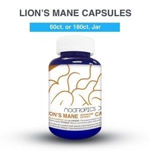 Lion's Mane cápsulas 500mg (x180)