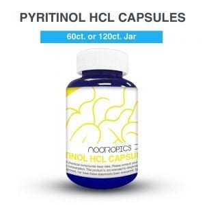 Piritinol HCL cápsulas (x60)