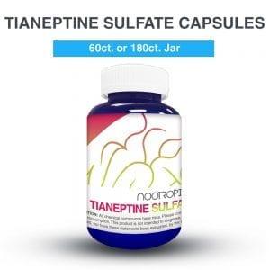 Tianeptine Sulfato cápsulas (x60)