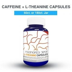 L-Teanina y Cafeína cápsulas (x60)
