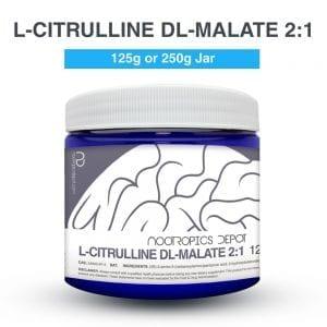 L-Citrulina DL-Malato 125g