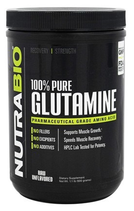 glutamina no sirve