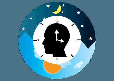 Un ritmo circadiano saludable es importante para el buen dormir